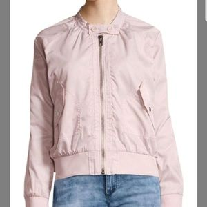Free People Midnight Bomber Blush Pink XS NWT